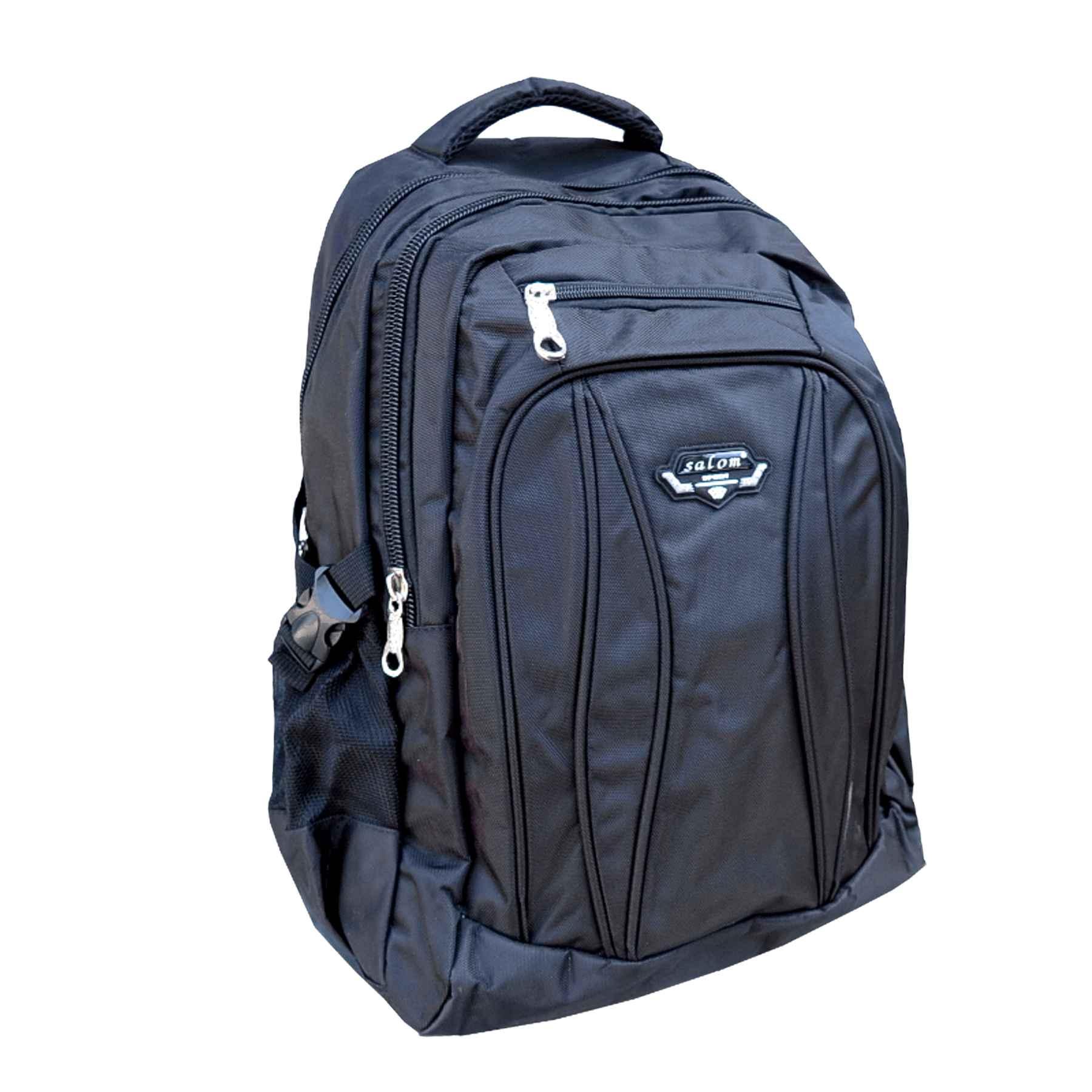 e138e141d3 ruksak Salom Sport čierny. špecifikácia   kvalitný jednokomorový batoh  strednej veľkosti s dvomi prednými menšími batoh