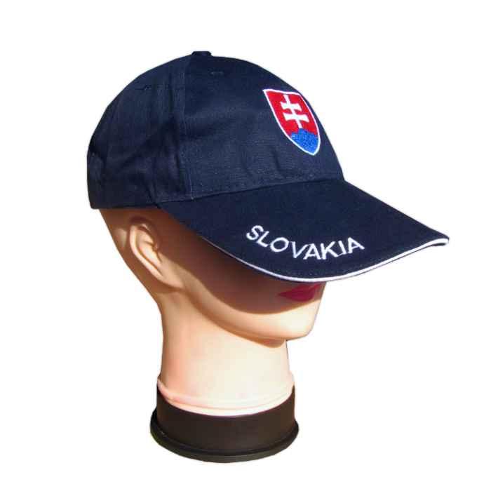 f4418a992 Šiltovka SLOVAKIA so znakom – tmavomodrá - TifanTEX Lehota