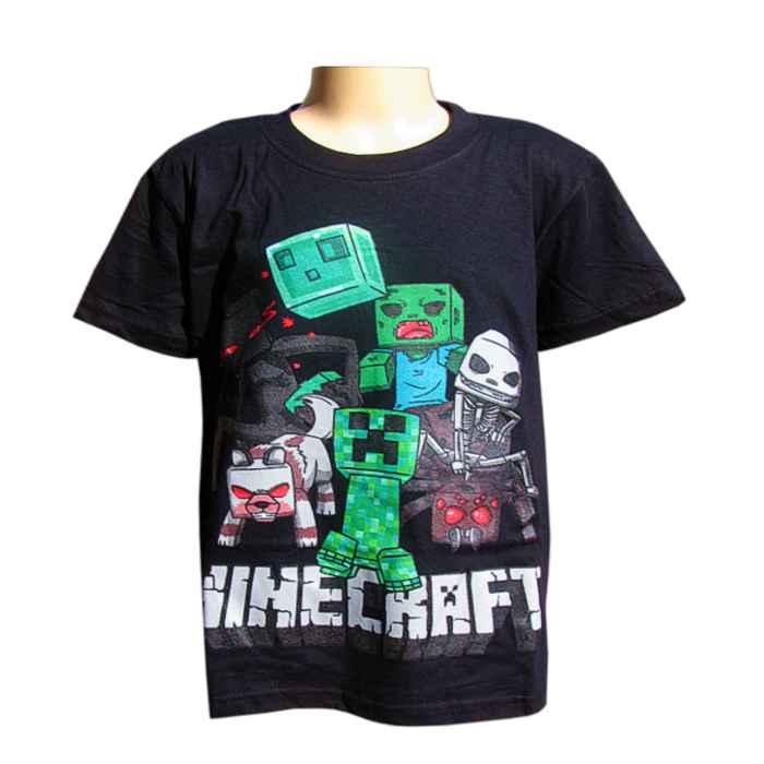 c7b5d5ea7724 Tričko detské Minecraft čierne YC150