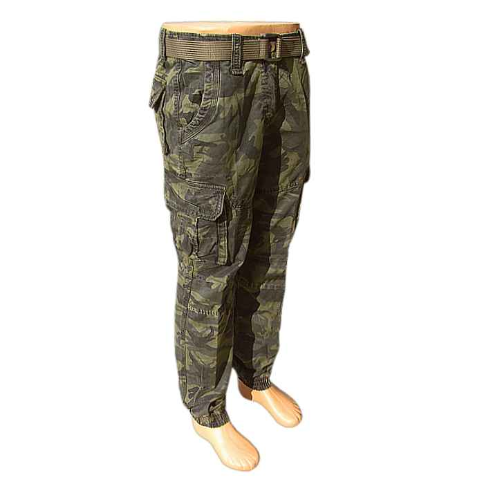 4bb12c15fb70 Nohavice maskáčové LOSHAN army shop green