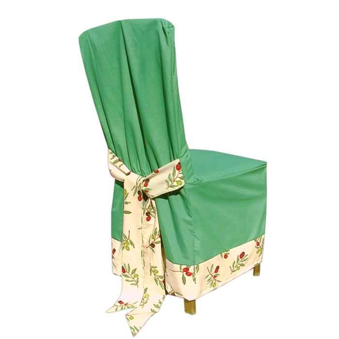 bcc6e64b5f01 Návlek na stoličku zelený oliva - Tifantex domácnosť