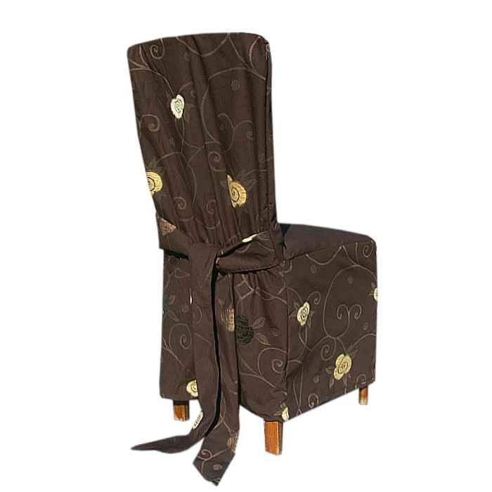 af67c0570319c Návlek na stoličku brown ornament - Tifantex veľkoobchod