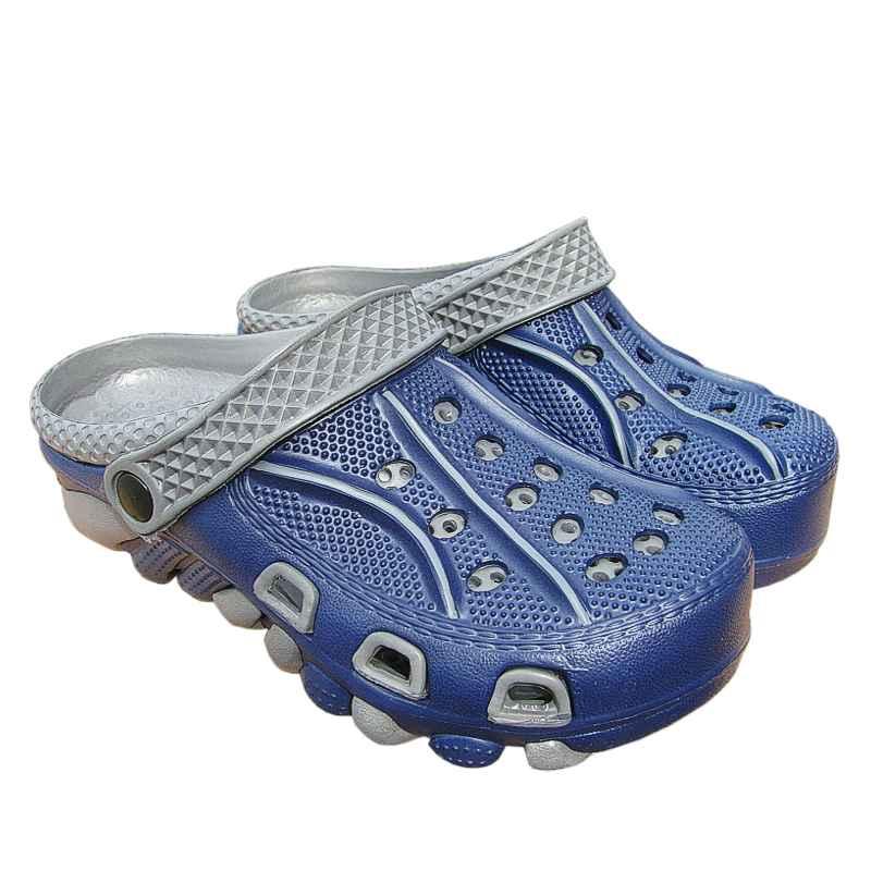 Lacné kroksy pánske dvojfarebné modré  771086ec9e5