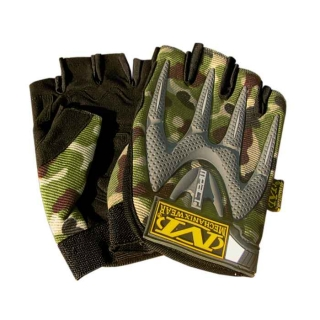 Rukavice MPACT woodland GLOVE FIMGERLESS